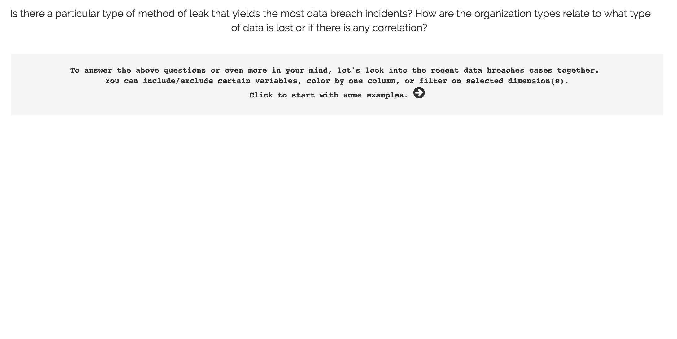 CS171 Data at Large: Process Book